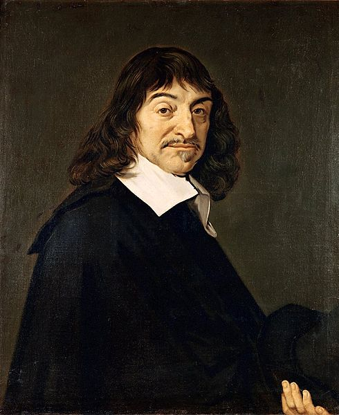 Rene Descartes portrait